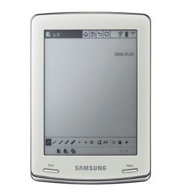 Samsung_E60_eBook_Reader_front