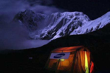 Team_samsung_Annapurna_III_base_camp